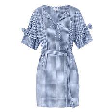 Frill Sleeve Shift Dress
