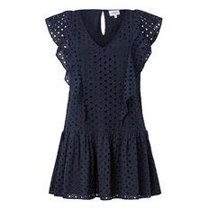 Broderie Frill Dress