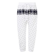 Embroidered Pant