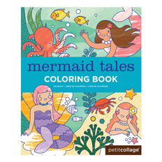 Mermaid Tales Colouring Book