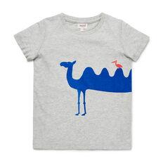 Camel Print Tee