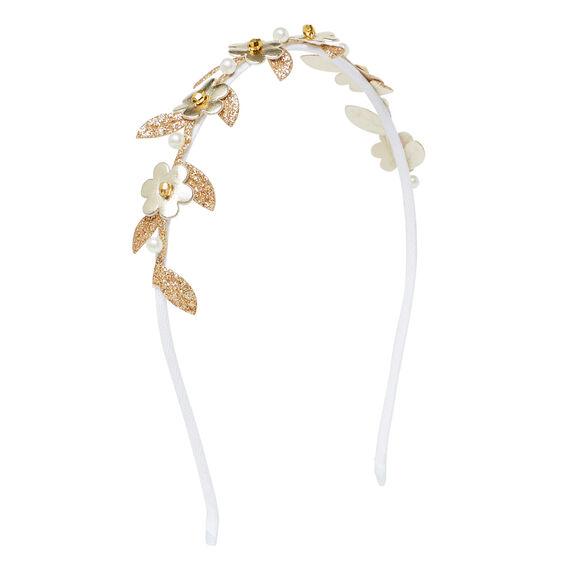 Little Flower Glitter Headband