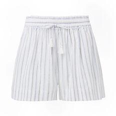 Stripe Tie Short
