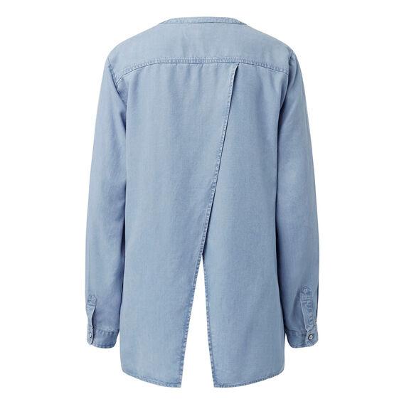 Splice Back Shirt