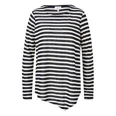 Sequin Stripe Sweater