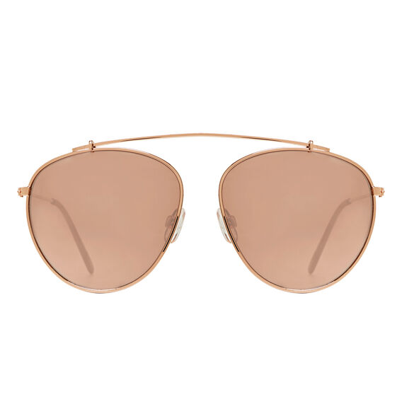 Rose Aviator Sunglasses