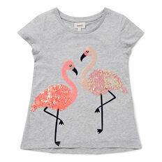 Sequin Flamingo Tee