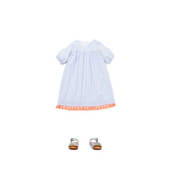 Tassel Off-Shoulder Dress
