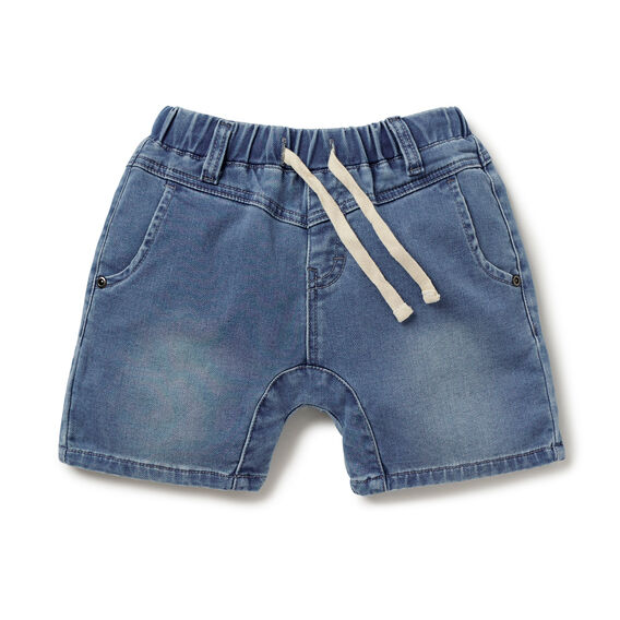 Denim Terry Short
