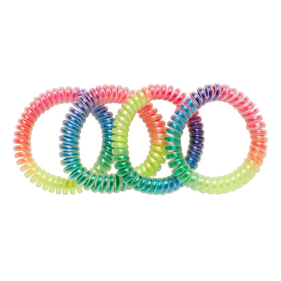Rainbow Coil Bracelet