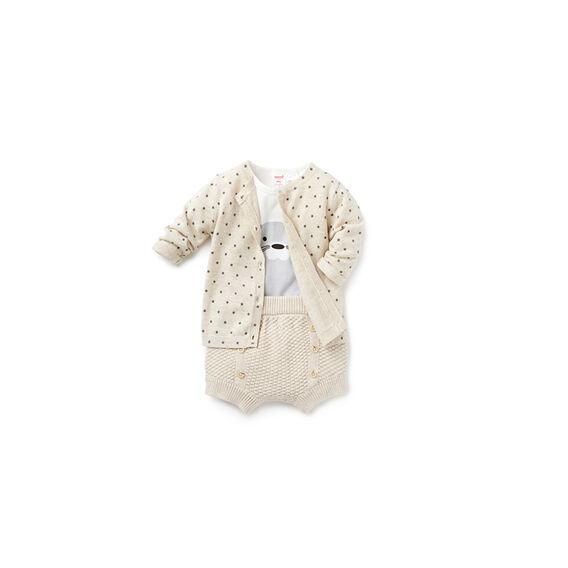 Star Knit Cardigan
