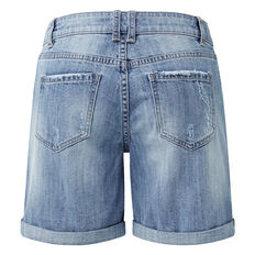 Rolled Up Denim Short