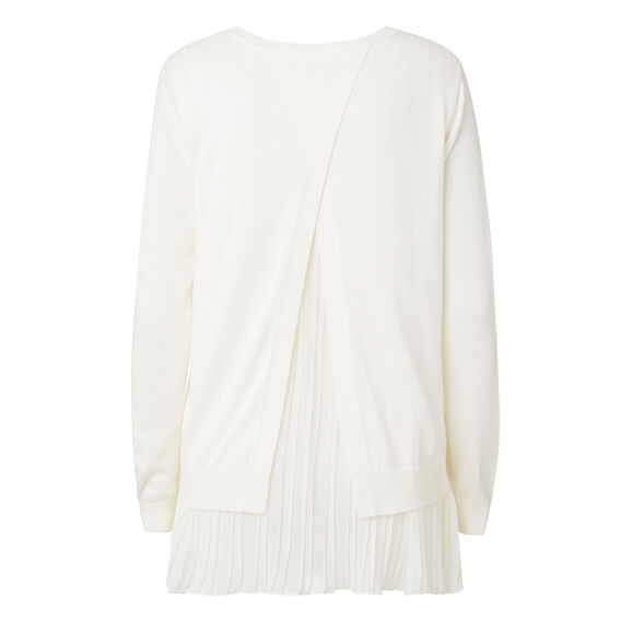 Pretty Frill Sweater