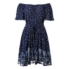 Off Shoulder Bandana Dress