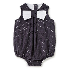 Broderie Bow Romper