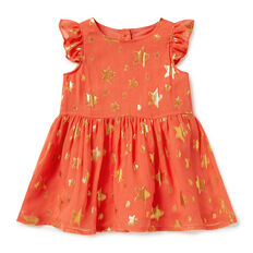 Star Frill Dress