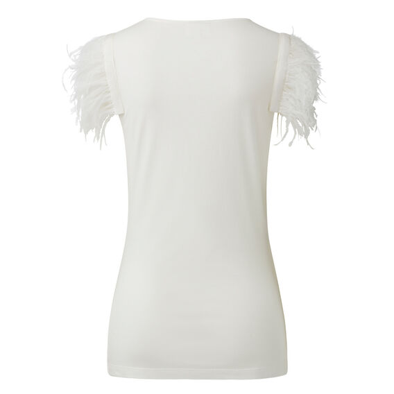 Collection Feather Sleeve Tee