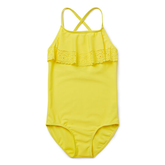 Broderie Frill Bather