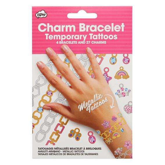 Charm Bracelet Temporary Tattoo