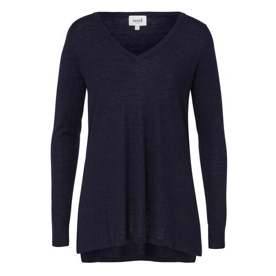 Babywool Splice Sweater