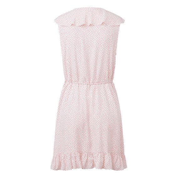 Spot Wrap Dress
