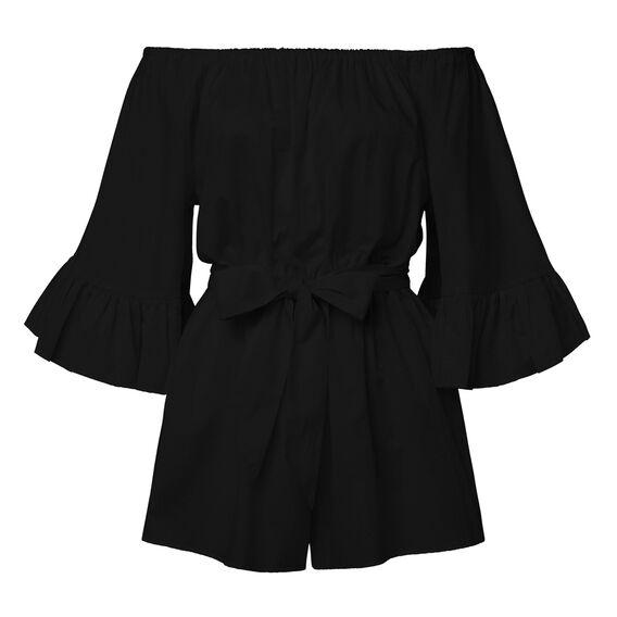 Flare Sleeve Jumpsuit