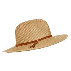 Suede Trim Hat