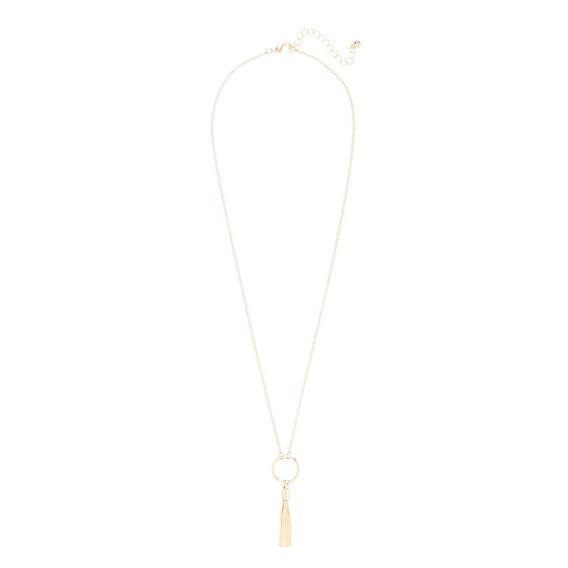 Tassel Ring Necklace