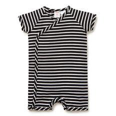 Stripe Wrap Jumpsuit