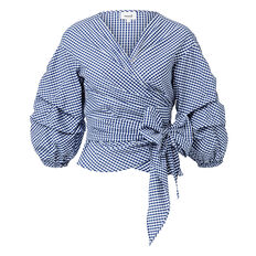 Cotton Gingham Top