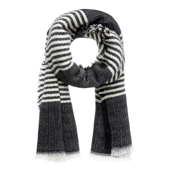 Stripe Blanket Scarf