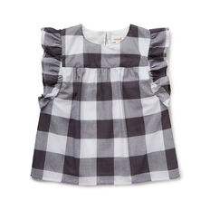 Frill Gingham Top