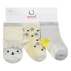 Hedgehog 3 Pack Socks