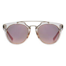 Jo Round Metal Trim Sunglasses