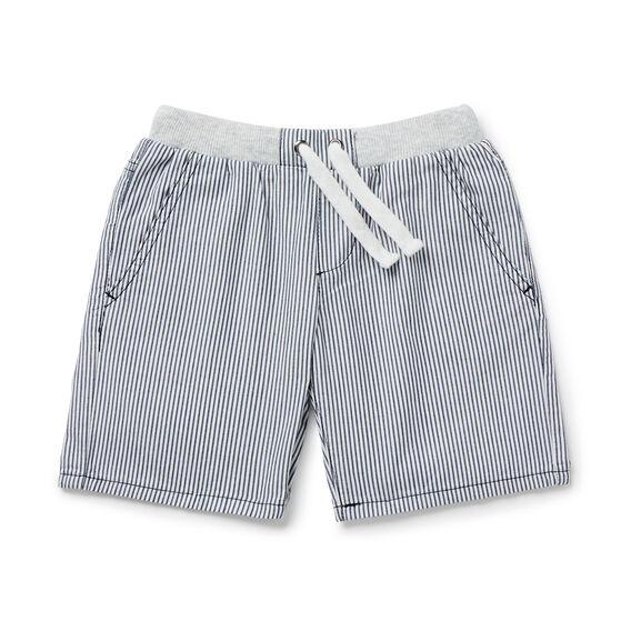 Stripe Rib Short