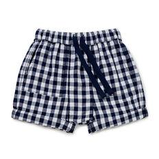 Gingham Pocket Short