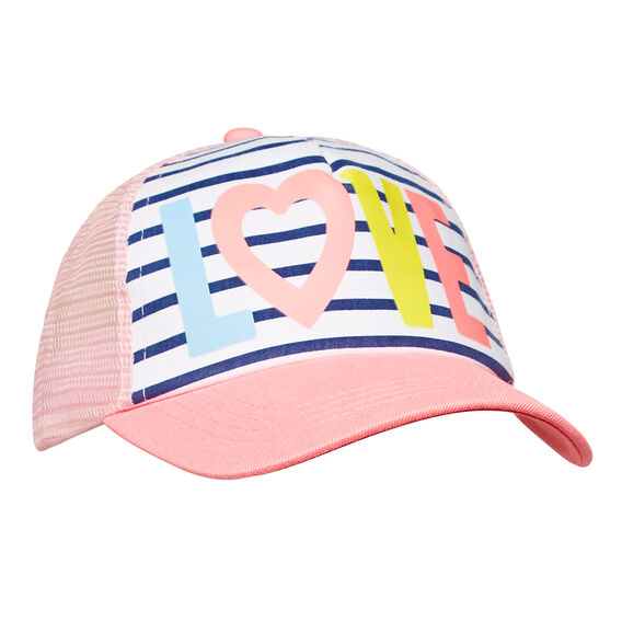 Colour Block Love Cap