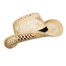 Floral Weave Cowboy Hat