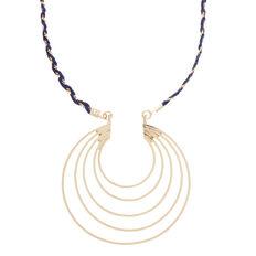 Thread Chain Pendant Necklace