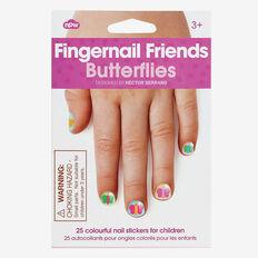 Butterfly Fingernails