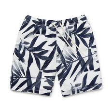 Tropical Print Short