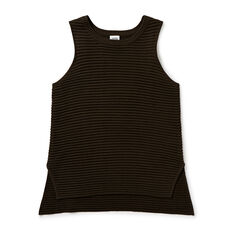 Rib Sleeveless Knit