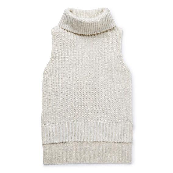 Lurex Roll Neck Sweater