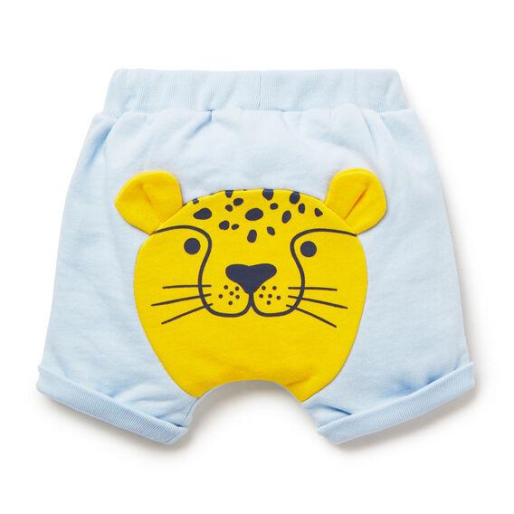 Leopard Bum Short