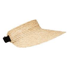 Wide Straw Visor