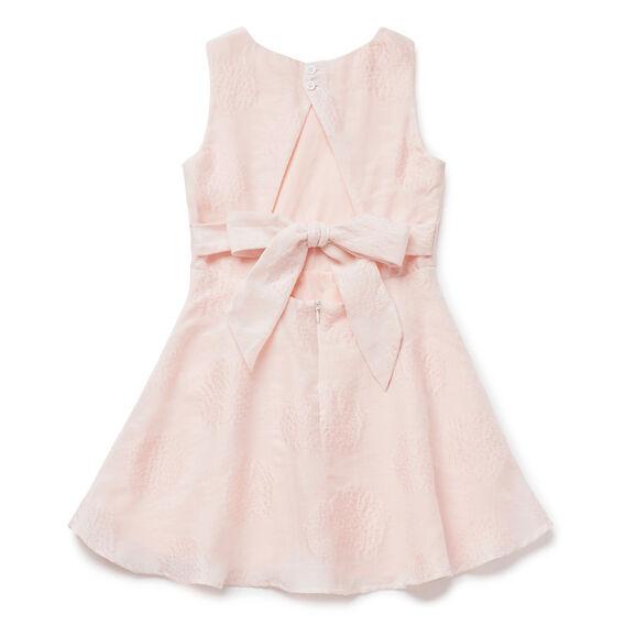 Open Back Spot Dress