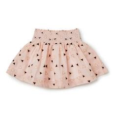 Lurex Smocked Skirt