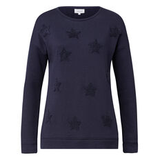 Star Applique Sweat