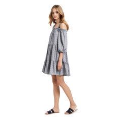 Cold Shoulder Slouch Dress