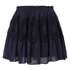 Lace Detail Skirt